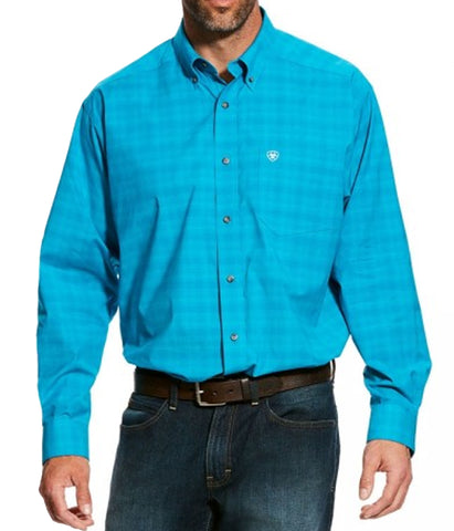 Ariat® Men's Fairbanks Long Sleeve Stretch Performance Western Shirt