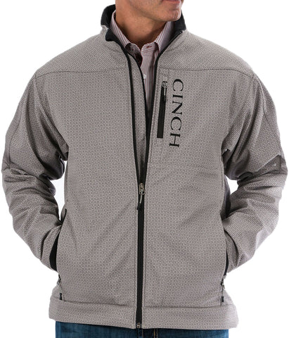 CINCH MEN'S BONDED CONCEALED CARRY JACKET - GRAY