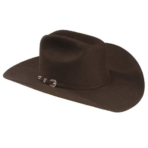 Resistol Men's George Strait 6X City Limits Fur Felt Western Hat