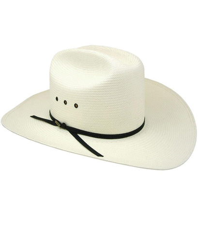Resistol 10X Long Cattleman Natural Straw Hat