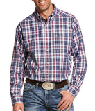 Ariat® Men's Long Sleeve Pro Series Multi Plaid Acosta Shirt