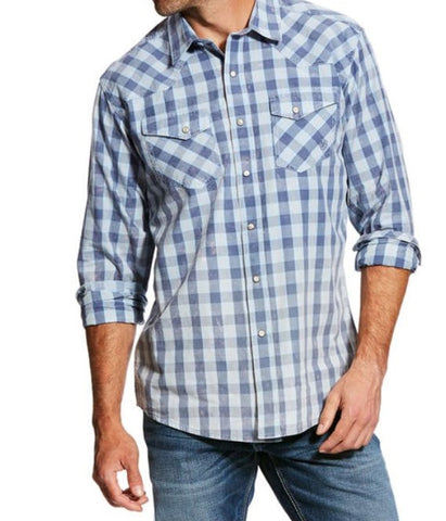 Ariat® Men's Retro Checkered Western Shirt