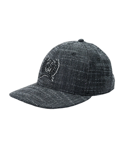 CINCH MENS BASEBALL CAP OSFA - TEXTURED BLACK