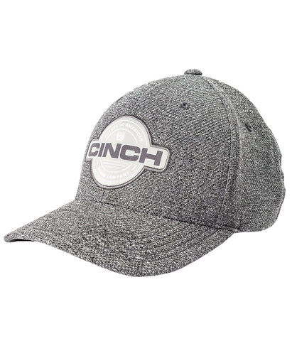 Cinch FLEXFIT Baseball Cap - Textured Gray