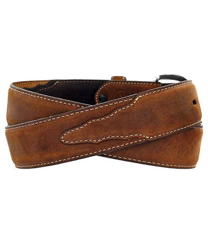 JUSTIN CLASSIC WESTERN BELT - BROWN
