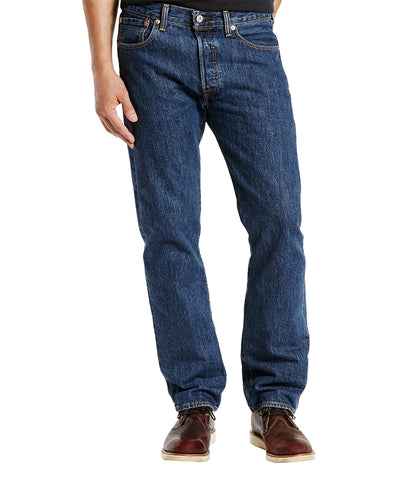 LEVI'S 501 ORIGINAL FIT JEAN - DARK STONEWASH