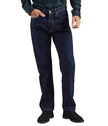 LEVI'S 505 REGULAR FIT JEAN - RINSE
