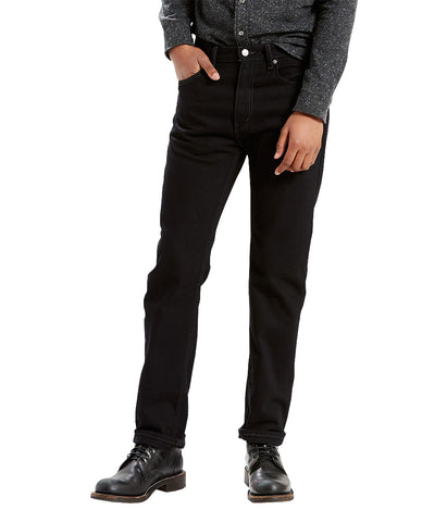 LEVI'S 505 REGULAR FIT JEAN - BLACK