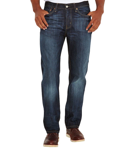 LEVI'S 514 STRAIGHT FIT JEAN - SHOESTRING/BLUE
