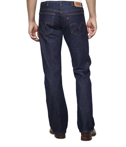 LEVI'S 517 BOOT CUT JEANS - RINSE