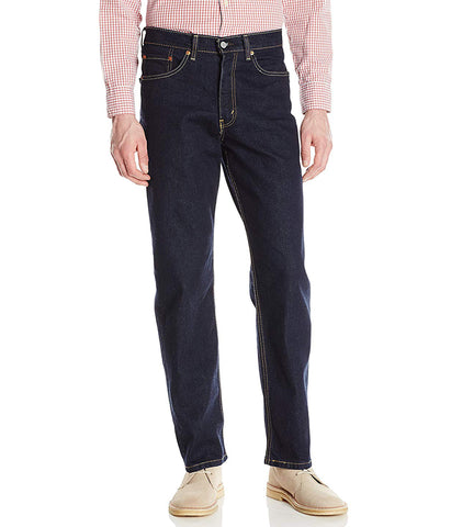 LEVI'S 550 RELAXED FIT STRETCH JEANS - RINSE-STRETCH