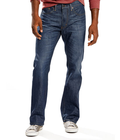 LEVI'S 559 RELAXED STRAIGHT STRETCH JEANS - STEELY BLUE