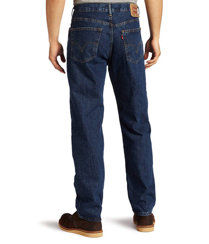 LEVI'S 550 RELAXED FIT JEANS (BIG & TALL) – DARK STONEWASH