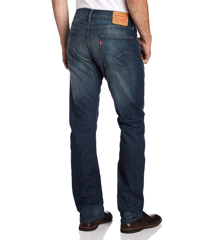LEVI'S 513 SLIM STRAIGHT STRETCH JEANS - CASH