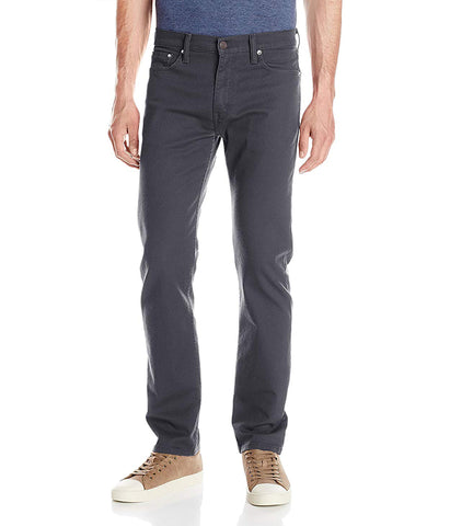 LEVI'S MEN'S 513 SLIM STRAIGHT JEANS - STEALTH