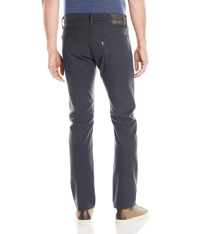 LEVI'S 513 SLIM STRAIGHT STRETCH JEANS - STEALTH