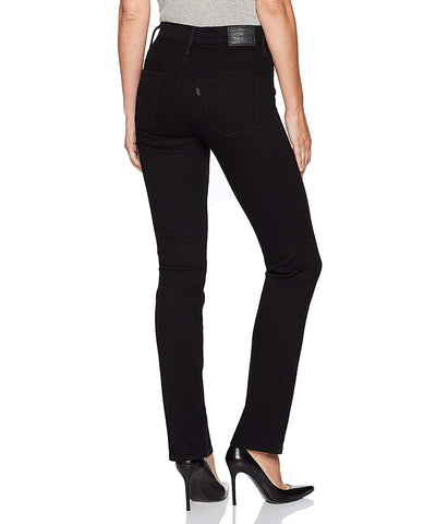 LEVI'S SLIMMING STRAIGHT JEANS - BLACKENED ASH