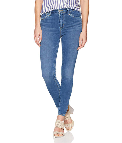 LEVI'S 720 HIGH RISE SUPER SKINNY JEANS - BLUE BIRD
