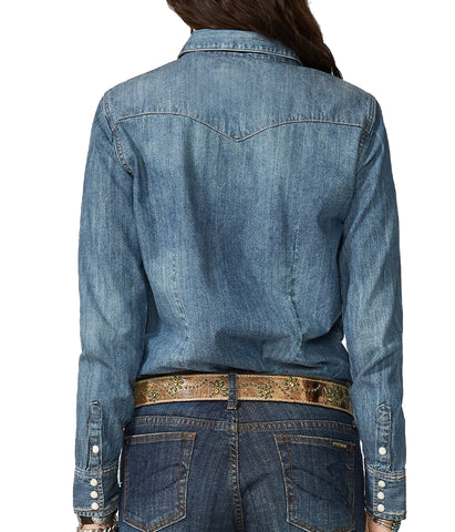 Stetson Western Snap Front Denim Shirt