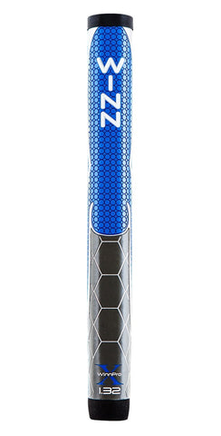 "Winn Golf Pro X Putter Grips - 1.32"" Blue Gray"