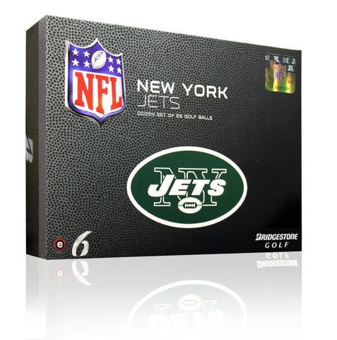 Bridgestone NFL e6 Golf Balls - New York Jets (Prior Year Model)