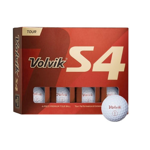Volvik S4 Tour Performance Golf Balls