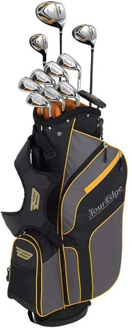 Tour Edge 2020 Men's Bazooka 270 Full Set - Black / Gray / Yellow