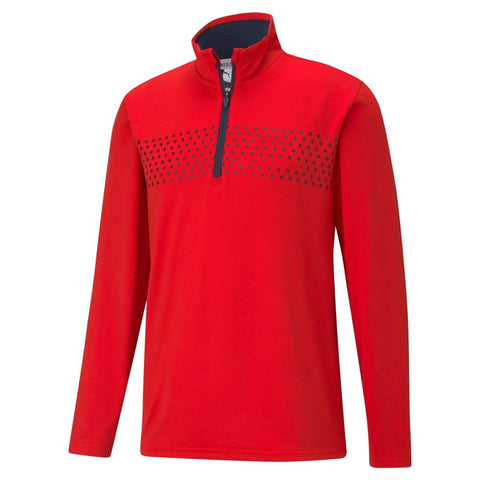 Puma Volition Tried and True 1/4 Zip Golf Jacket