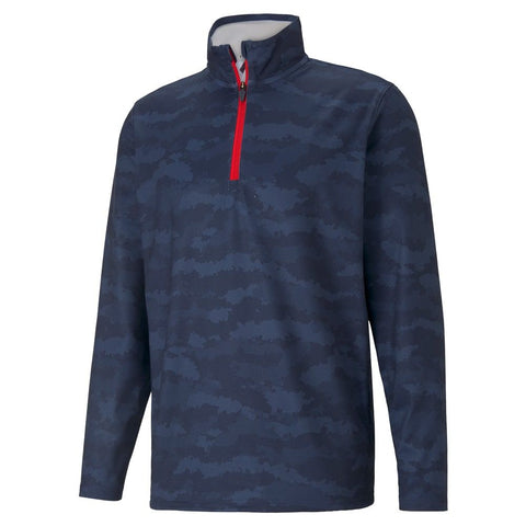 Puma Volition Flanked 1/4 Zip Golf Jacket