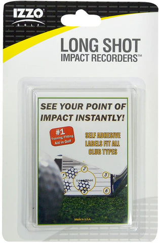 Long Shot Golf Impact Recorders