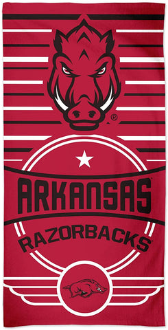 "Arkansas Razorback Beach Towel 30"" x 60"""