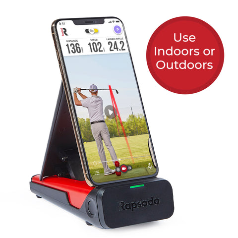 Rapsodo Mobile Indoor/Outdoor Portable Golf Launch Monitor