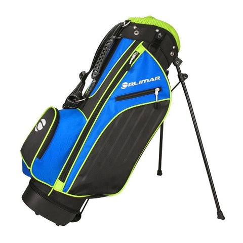 Orlimar Golf ATS Junior Boys Blue Lime Series Stand Bag (Age 5-8)