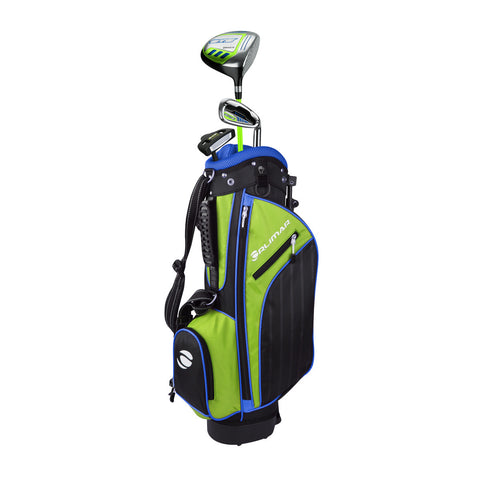 Orlimar Golf ATS Junior Boys Lime Blue Series Set for Ages 3-5