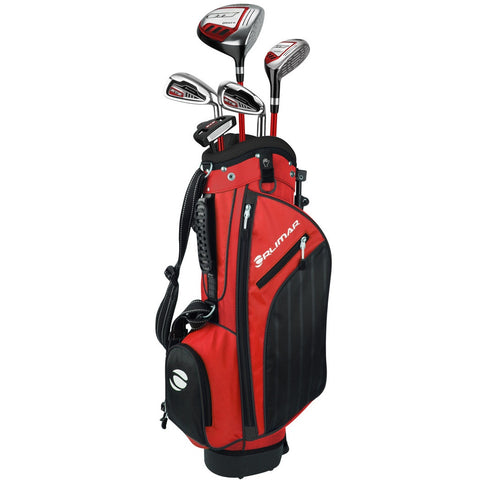 Orlimar Golf ATS Junior Boys Red Black Series Set for Ages 9-12