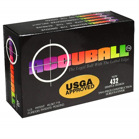 Accuball 6-Pack Golf Ball