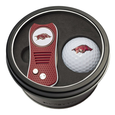 SwitchFix Golf NCAA Tin Set - Divot Tool & Golf Ball