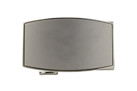 NexBelt Aston Brushed Pewter Buckle