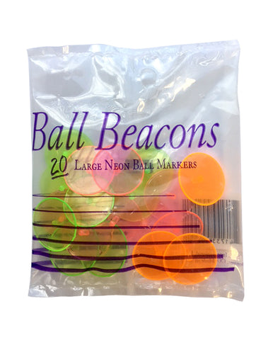 Beacons Large Neon Golf Ball Markers
