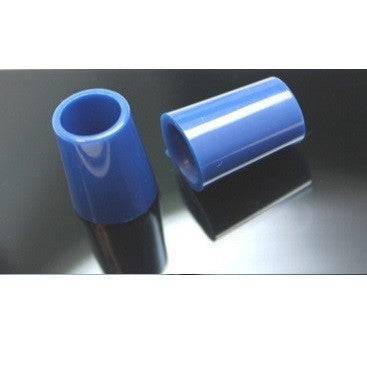 Ferrules - Solid Blue Color .370 Tip 3/4""
