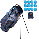 Volvik Golf 6-Way Stand Carry Bags w/ Bonus Dozen Balls & Hat!