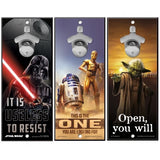 "Star Wars Bottle Opener 13"" x 5"" Wooden Signs"