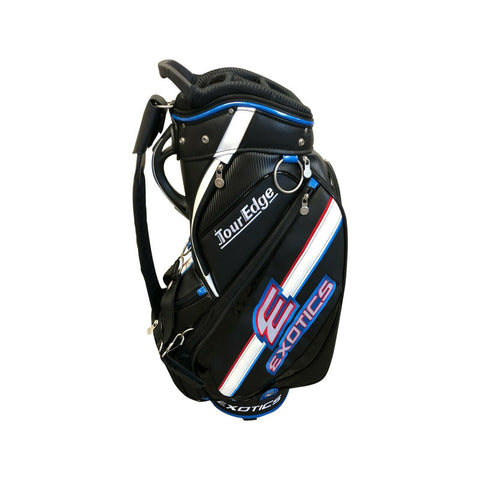 Tour Edge Exotics CBX 119 Staff Bag Black Blue 4-Way Divided