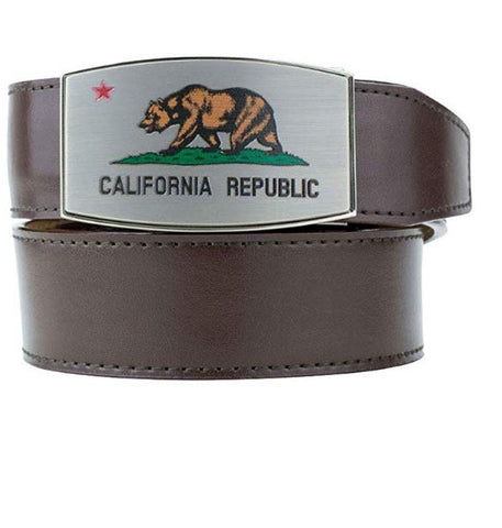 NexBelt Aston Pewter California Dreamin' Bear W/ Belt