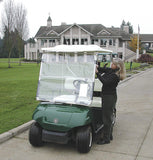 ProActive Sports CartShield Clear Portable Golf Cart Windshield