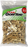Pride Sports Wood Golf Tees 2.125 x 125 count