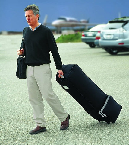 Deluxe Golf Equipment Travel Bag with Wheels