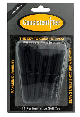 Consistent Tee Biodegradable Golf Tees 10 pack