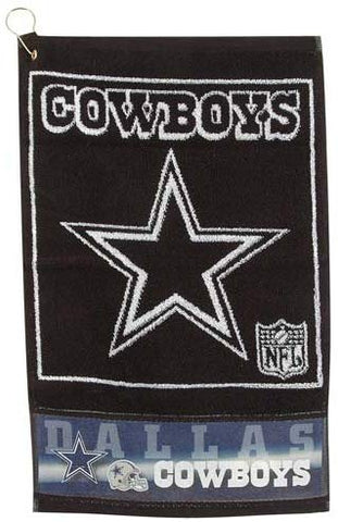 Dallas Cowboys Jacquard Golf Towel McArthur Sports