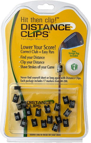 Distance Clips Yardage Markers (17 ct)